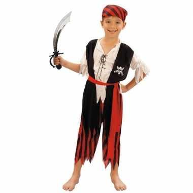 Piraten carnavalskleding maat m zwaard kinderen valkenswaard