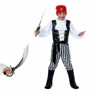 Piraten carnavalskleding maat s zwaard kids valkenswaard