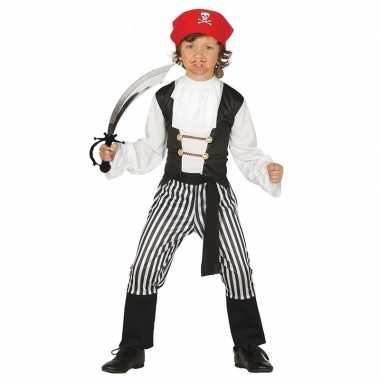 Piraten carnavalskleding maat zwaard kinderen valkenswaard
