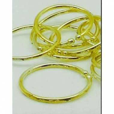 Piraten gouden oorbellen carnavalskleding Valkenswaard