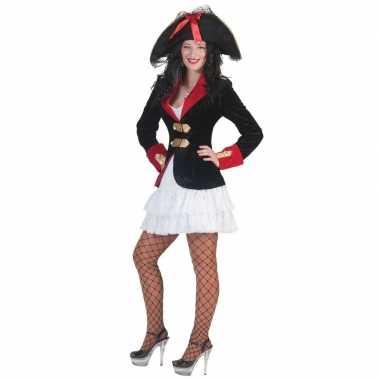 Piraten jurkje colbert dames carnavalskleding valkenswaard