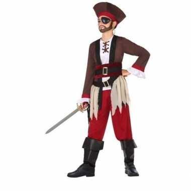 Piraten verkleed carnavalskleding jongens valkenswaard