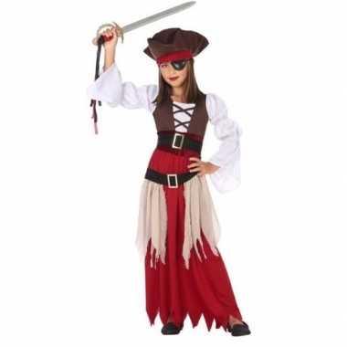 Piraten verkleed carnavalskleding/jurk meisjes valkenswaard