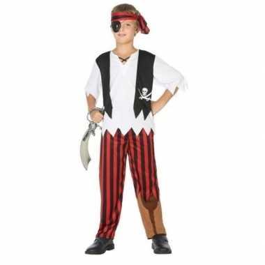 Piraten verkleed set jongens carnavalskleding valkenswaard
