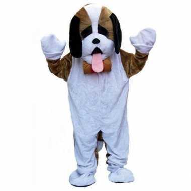 Pluche hond carnavalskleding volwassenen