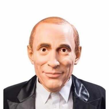 Poetin verkleed masker volwassenen carnavalskleding valkenswaard