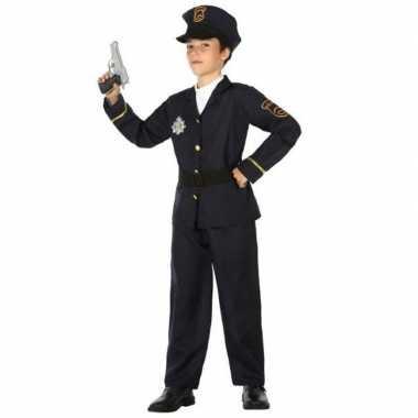 Politie agent carnavalskleding / verkleed carnavalskleding jongens va