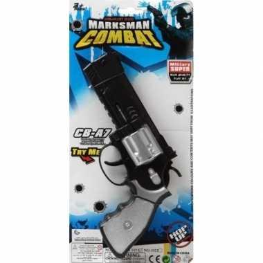 Politie/militair speelgoed pistool carnavalskleding valkenswaard