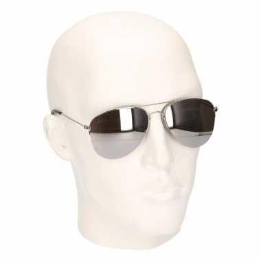 Politiebril volwassenen model carnavalskleding valkenswaard