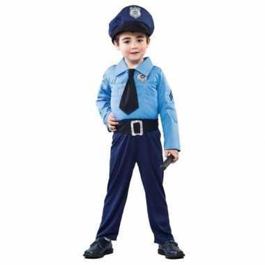 Politieman carnavalskleding jongens valkenswaard
