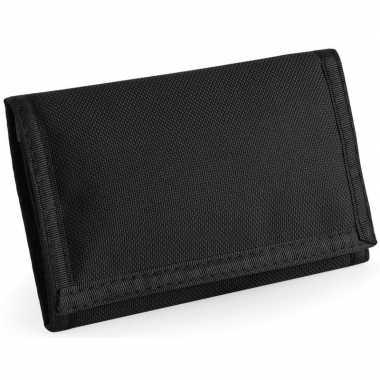 Portemonnee/portefeuille zwart carnavalskleding valkenswaard