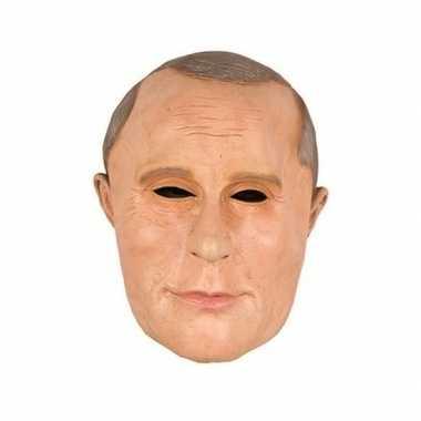 President poetin masker latex carnavalskleding valkenswaard