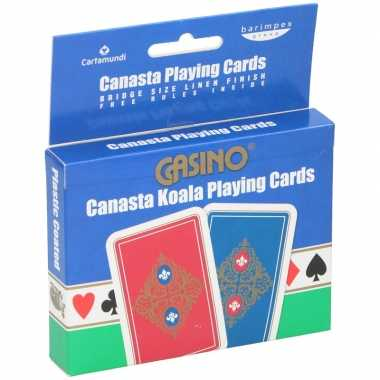 Professionele bridge speelkaarten carnavalskledingken