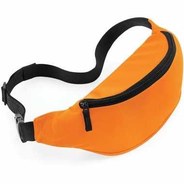 Reistasjes verstelbaar oranje carnavalskleding valkenswaard