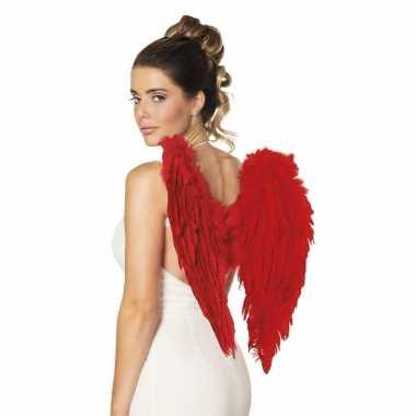 Rode duivels belgie supporters vleugels carnavalskleding valkenswaard