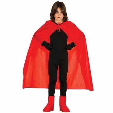 Rode halloween verkleedcape kinderen carnavalskleding valkenswaard