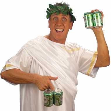 Romeinse hoofd krans groen carnavalskleding valkenswaard