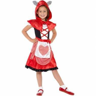 Roodkapje carnavalskleding meisjes 10099412