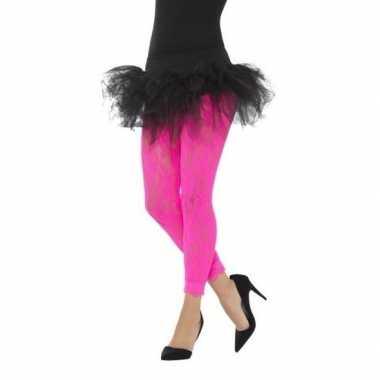 Roze jaren panty dames carnavalskleding valkenswaard