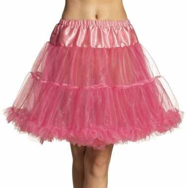 Roze petticoat dames carnavalskleding valkenswaard