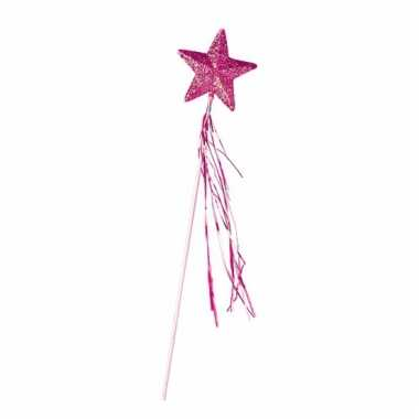 Roze toverstafjes glitters carnavalskleding Valkenswaard