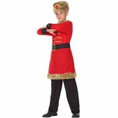 Russische kozakken verkleed carnavalskleding jongens valkenswaard