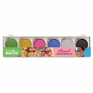 Schmink set glitter make up kleuren carnavalskleding valkenswaard