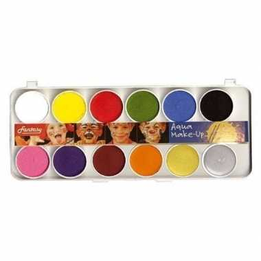 Schmink set kleuren carnavalskleding valkenswaard
