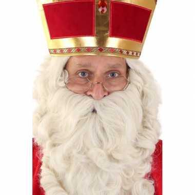 9f6e42506ff2cf Sinterklaas brilletje goud montuur carnavalskleding valkenswaard ...
