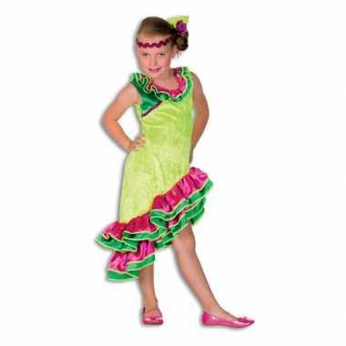 Spaans meisje verkleed carnavalskleding Valkenswaard