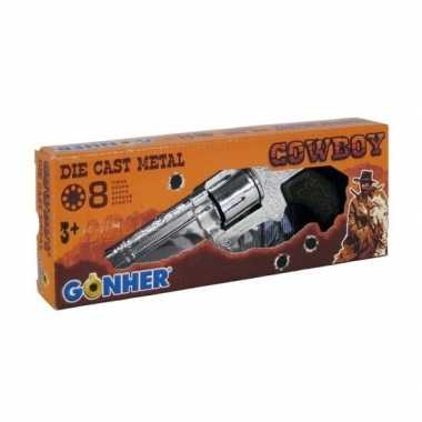 Speelgoed/verkleed cowboy plaffertjes pistool schots carnavalskleding