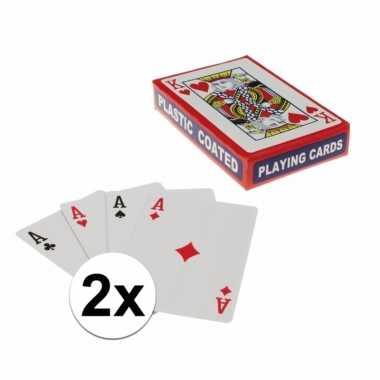 Speelkaarten setjes stuks