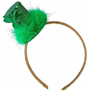 St. patricks day hoedje haarband dames carnavalskleding valkenswaard