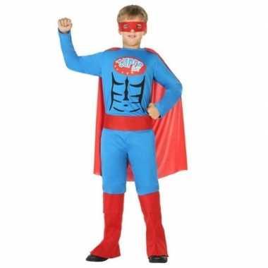 Superheld carnavalskleding/verkleed carnavalskleding jongens valkensw