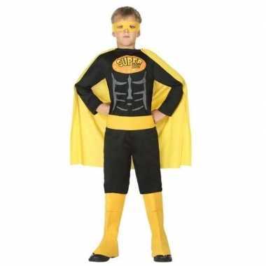 Superheld vleermuis carnavalskleding/verkleed carnavalskleding jongen