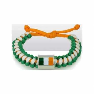Supporters armbandje Ierland carnavalskleding Valkenswaard