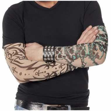 Tattoo mouwen gothic carnavalskleding valkenswaard