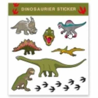 Tattoo stickers dinosaurussen stuks carnavalskleding valkenswaard