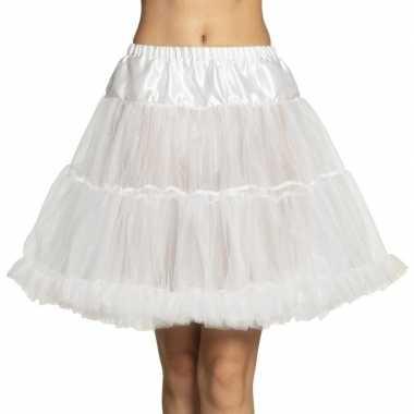 Toppers witte petticoat dames carnavalskleding valkenswaard