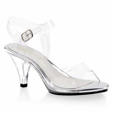 Transparante muiltjes/pumps dames carnavalskleding valkenswaard