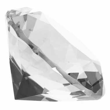 Transparante nep diamant glas 10095188