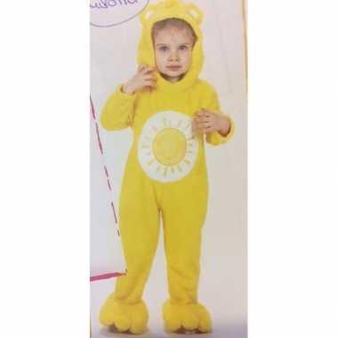 Troetelberen carnavalskleding geel meisjes