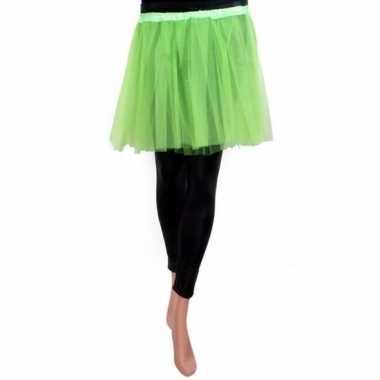 Tule rokje meisjes groen carnavalskleding valkenswaard