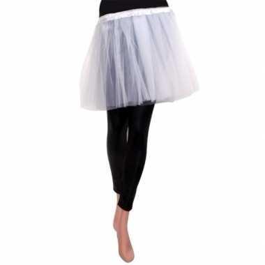 Tule rokje meisjes wit carnavalskleding valkenswaard