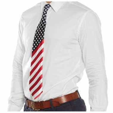 Usa verkleed stropdas carnavalskleding valkenswaard