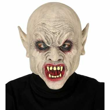 Vampier/zombie horror masker latex carnavalskleding valkenswaard