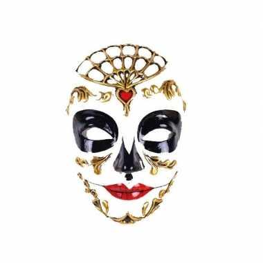 Venetiaanse maskers day of the dead carnavalskleding valkenswaard