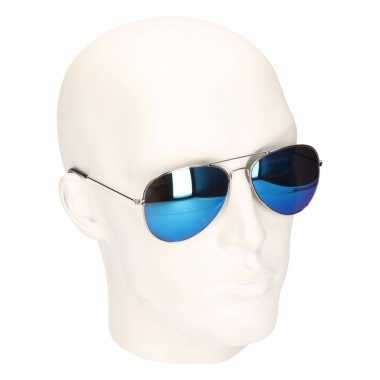 438c82585011b0 Verkleed blauwe zonnebril agent carnavalskleding valkenswaard ...