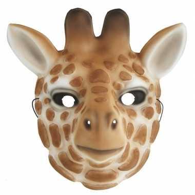 Verkleedmasker giraffe kids carnavalskleding valkenswaard