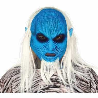 White walker zombie horror masker latex carnavalskleding valkenswaard